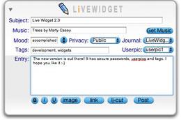 LiveWidget Front
